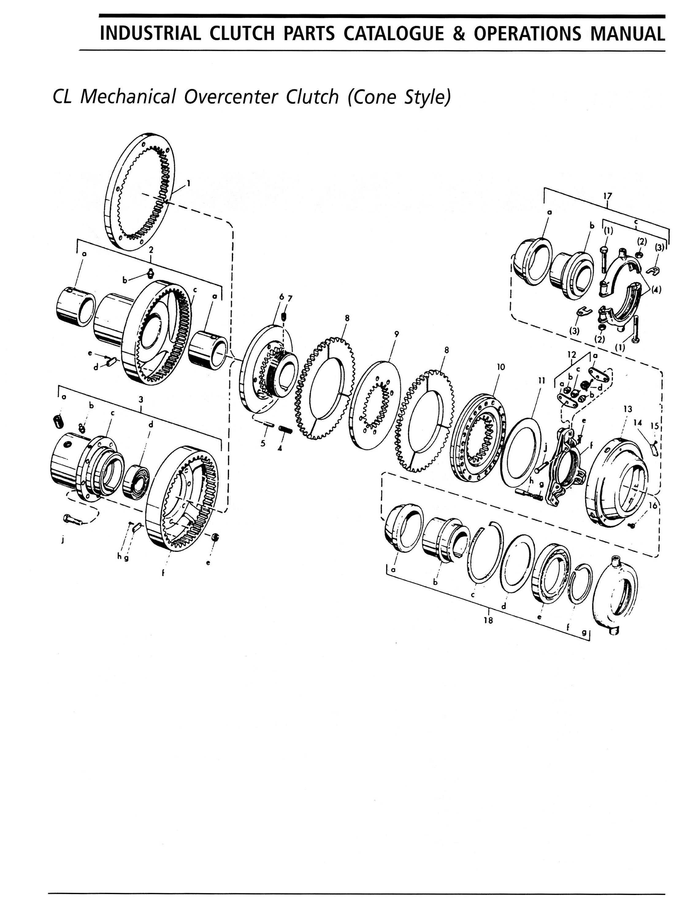Ottawa Clutch Automotive Industrial Agricultural Clutches Manual Transmission Diagram 1 Exploded View Of The 29 Cl Parts List