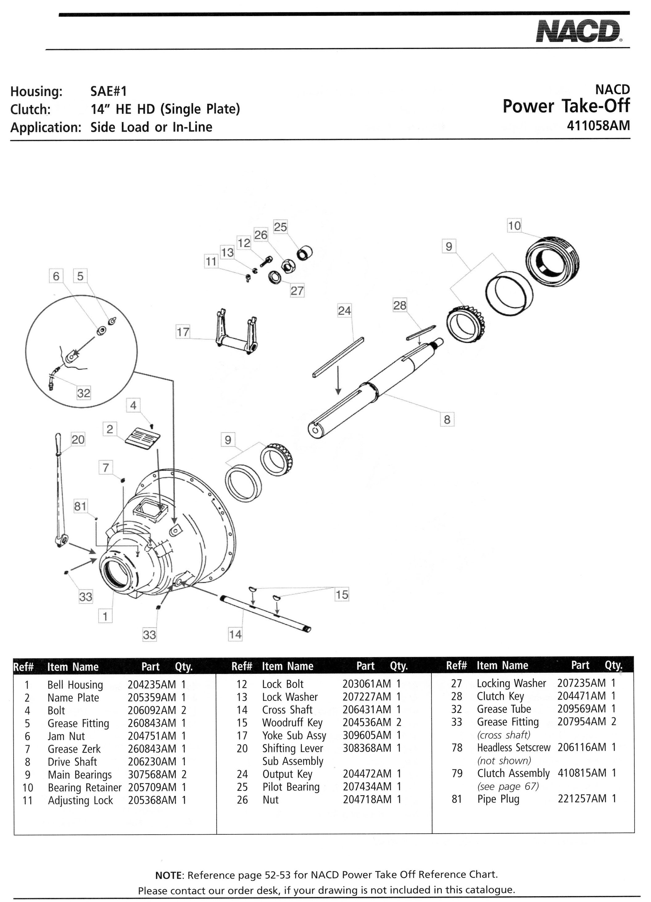 Ottawa Clutch Automotive Industrial Agricultural Clutches 1968 Ford Galaxie Engine Diagram 38 Nacd 14